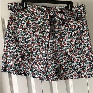 NWT Floral JCrew shorts
